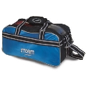 Storm 2 Ball Tote Black/Blue/Silver