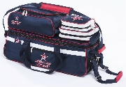 Roto Grip 3-Ball Tote Blue/Red/White