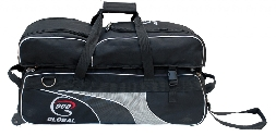 900 Global 3 Ball Airline Tote Black/Silver