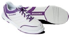 Brunswick Ladies Diamond White/Purple