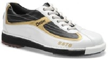 Dexter Mens SST 8 White/Black/Gold