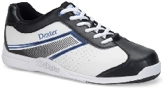 Dexter Mens Randy White with Blue Trim