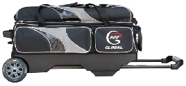 900 Global 3 Ball Deluxe Roller Black/Silver
