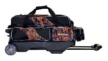 900 Global 3 Ball Deluxe Roller Orange Camo/Black