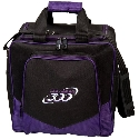 Columbia 300 White Dot Single Tote Purple/Black