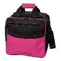 KR Strikeforce Kolors Single Tote Black/Hot Pink
