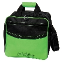 KR Strikeforce Kolors Single Tote Black/Lime