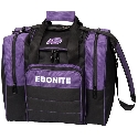 Ebonite Impact Plus Single Tote Purple