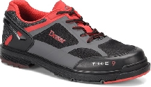Dexter Mens The 9 HT Black/Grey With Red Trim