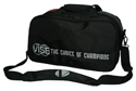 VISE 2 Ball Tote Clear Top Black